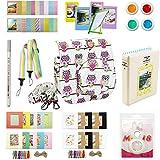 Kaita Instax mini 8 Zubehör - Mini 8 Case - Minibuch -Album - Mini 8 Selfie Len - Mini 8 Filter - Mini-8-Kamera-Tragegurt - 2x3 Bilderrahmen - Dekor-Aufkleber-Borders - Wand-Dekor Hängen Frame Set 11 - Eule