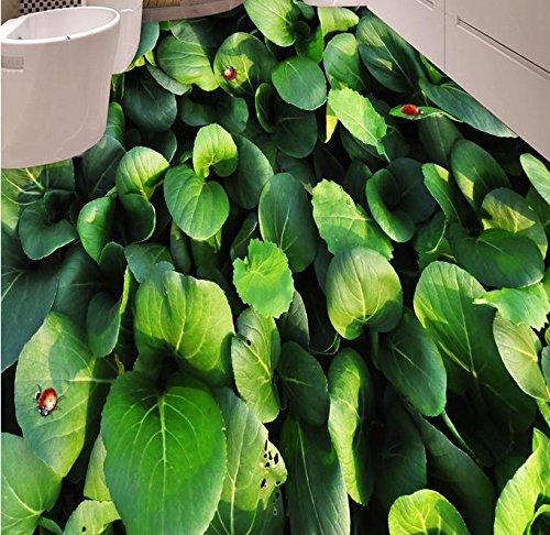 LWCX 3D Piastrelle Per Pavimento In Pvc Adesivo Auto Wallpaper Custom 3D Pavimentazione Orto Soggiorno Pavimentazione Rotolo Carta Da Parati Moderna 280X200CM