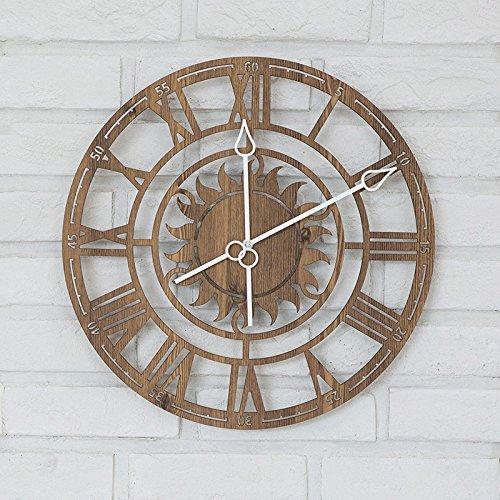 Vinteen numeri romani europei retro orologio da parete soggiorno moderno creativo orologio da uomo arte al quarzo orologio da caffè ristorante trend orologio e orologi horologe ( color : gold )