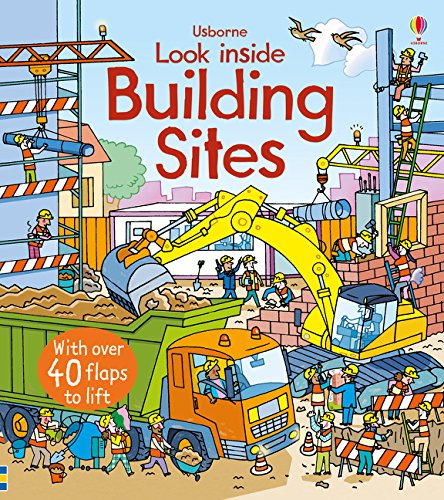 Look Inside A Building Site (Look Inside Board Books) por Rob Lloyd Jones