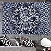 Morbuy Tapiz Pared de Creativo Decoración Tapices Abstracción Geométrica Impreso Tapicería Cubierta del Sofa Manteles Cortina