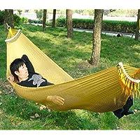 G & T single-double imbottita hammocks. campeggio