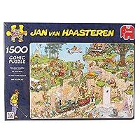 Jan van Haasteren - The Golf Course1500 Piece Jigsaw Puzzle