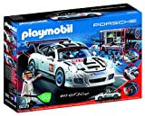 Playmobil 9225 Porsche 911 GT3 Cup with Racing Command Station, Multicolor