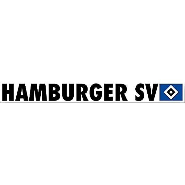 Hamburger Sv Autoaufkleber Groß 78 X 9 Cm Sport Freizeit