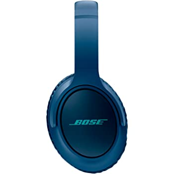 Bose SoundTrue Around-Ear Headphones with Mic (Navy Blue) for Apple Devices