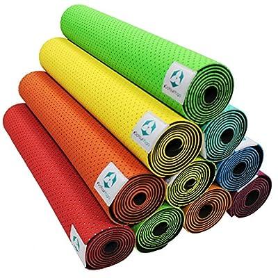 Yogamatte »SuriÂ« / Umweltfreundliche und hypo-allergene TPE-Matte, weich und rutschfest, ideal für alle Yoga-Lehrer und Yogis / Maße: 183 x 61 x 0,5cm / In vielen Farben erhältlich.