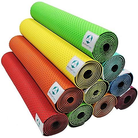 Tappetino da yoga »Suri« / Materassino ecologico e ipoallergenico in