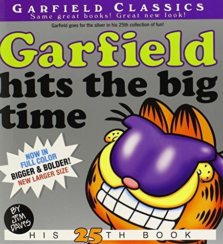 Garfield Hits the Big Time: His 25th Book by Davis, Jim (2013) Paperback