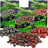 Angel-Berger Halibut Pellets Futterpellets (Red Halibut 14mm, 2KG)