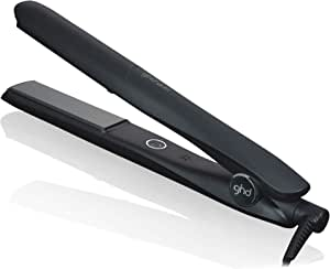 ghd Gold Piastra per Capelli Professionale e Innovativa con Dual-Zone Ceramic Technology, Cavo Professionale di 2.7 m, Nero