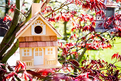 Garden Bazaar hb-7001y Country Cottage Bird House–Gelb