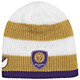 Orlando City SC Adidas MLS Authentic Draft Cuffless Knit Hat