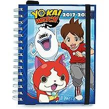 Grupo Erik Editores Yo-Kai Watch - Agenda escolar 2017/2018, semana vista