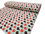 Möbelbär Elephant-Parade Kinder Sweat Jersey Textilstoff,