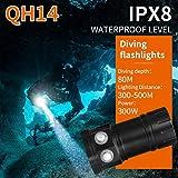 huichang Tauchlampe Unterwasser Taschenlampe