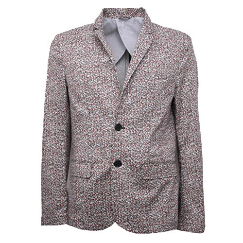 B4337 giacca uomo IMPERIAL giacche cotone beige/rosso/nero jacket man [L]