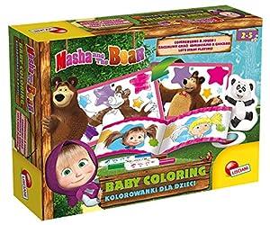 Lisciani Creative Masha et Michka Baby Coloring - CÓMO para Jugar, 78073