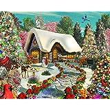 Snowy Delight Jigsaw Puzzle 1000 Pièces