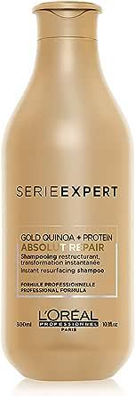 L'Oréal Professionnel Paris | Shampoo professionale per capelli secchi e danneggiati Absolut Repair Serie Expert, Formula ristrutturante, 300 ml