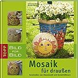 Mosaik für draußen Bild für Bild: Kunstvolles aus Glasmosaik und Keramikfliesen