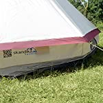skandika Tipii II 8 Person Tent Festival Party Tent Teepee Wigwam with 250 cm Height, 3000 mm Water Column & Zip-Up… 17