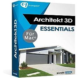 Architekt 3D X9 Essentials für Mac - Fotorealistische Haus- und Gartenplanung für Ihren Mac! Auch für Mac OS 10.13 High Sierra! [Download]