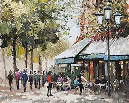 Leinwandbild Cafe II