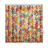 Best Croscill cortina de la ducha - Decoración para el hogar Cortina de baño Grunge Review