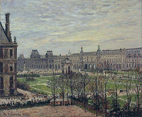 Das Museum Outlet-Die hakenkarussell-Grau Wetter, 1899, gespannte Leinwand Galerie verpackt. 40,6x 50,8cm - Wetter-medallion