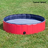 Forever SpeedForever Speed Hundepool Doggy Pool Swimming Pool Badewanne Pool Planschbecken für...