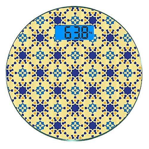 Escala digital peso corporal precisión Ronda Étnico