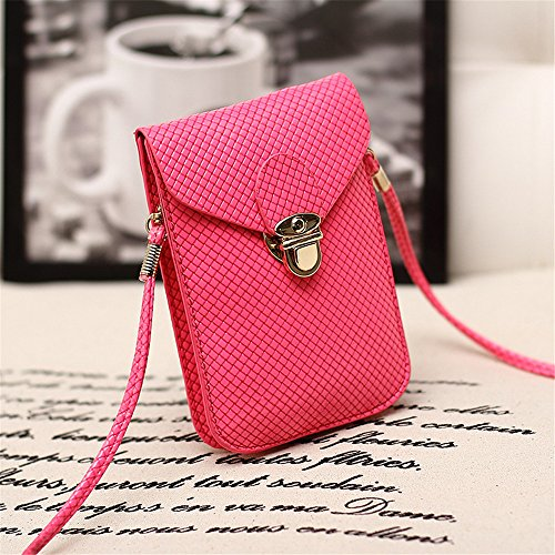Anne , Borsa Messenger  Donna Watermelon Red