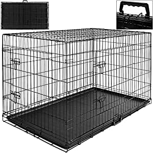 cage boite transport pour chien et animaux fermable et. Black Bedroom Furniture Sets. Home Design Ideas