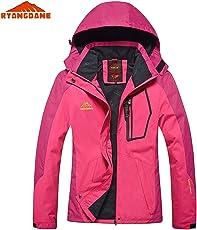Zorbes Ryangdane Outdoor Women Camping Climbing Jacket Windbreaker Waterproof Sport Outerwear