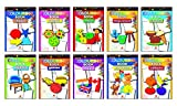 Best Coloring Books For Kids - Colouring Books - 1 (Set of 10 Books) Review