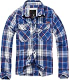 Brandit Checkshirt Chemise bleu XL