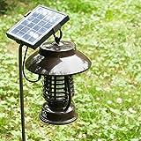 LLZMWD Outdoor/Solar/Mückenschutz Lampe/Wasserdicht/Haushalt/Keine Strahlung/Outdoor/Garten/Garten/Mückenschutz/Mücke, A