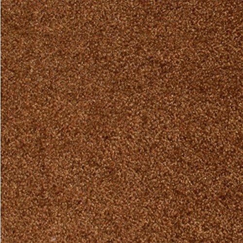 zui mit & xiaoyao zuixiaoyao mit Plüsch Einfache Moderne Teppiche 9-teilig, Schlafzimmer und Zuhause, Hand-Washable-Matten mit-Fußmatten, 30 * 30 * 1cm [a Price], Cocoa Brown