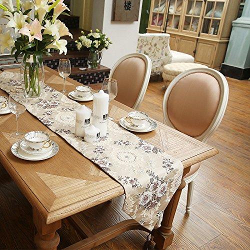 YFQH - Luxus Lieshu Magnolia High-End-Western Tischdecke Tabelle Flag Flag Kaffee Servietten TV-Schrank Abdeckung -