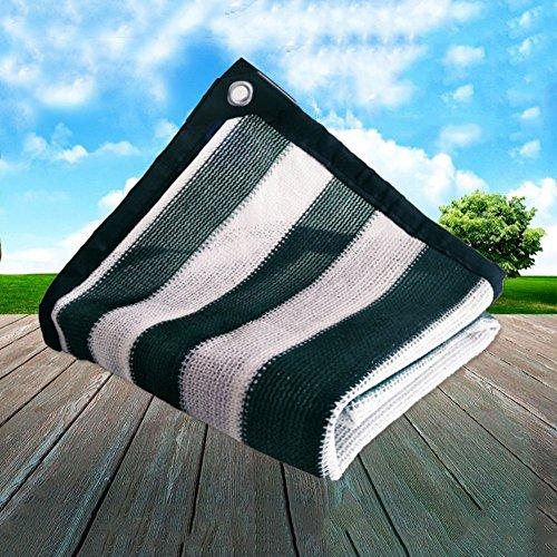 Yxsd Pare-Soleil Protection Solaire Filet Jardin Balcon Toit Voiture Panne d'électricité Isolation Net bâche épaisse (Color : Green-4 * 8m)