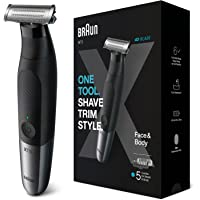 Braun Series XT5 – Beard Trimmer, Shaver and Electric Razor for Men, Body Grooming Kit for Manscaping, Durable One Blade…