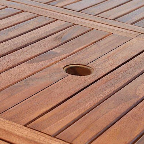 Deuba Sitzgruppe Vanamo aus Eukalyptusholz - 4