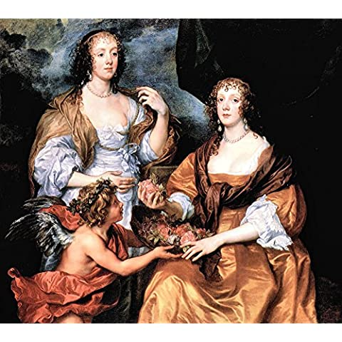 Il museo Outlet-Elizabeth Thimbleby e Dorothy Viscountess Andover di Van Dyck-Tela (60,96 x 45,72 (24
