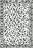 Vilber New Classic Damast Teppich, Vinyl, grau, 75x 120x 0.2cm