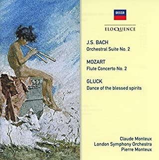 bach, Gluck, mozart: Music For Flute & Orchestra by Claude Monteux (B00YWLBEHQ) | Amazon Products