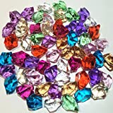 20 FUN PIRATE TREASURE ACRYLIC DIAMOND JEWELS PARTY SUPPLIES GAME PIECES STAGE PROPS