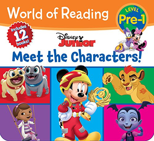 Disney Junior: Meet the Characters (World of Reading: Level Pre-1)