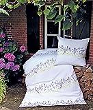 Janine Design Seersucker Bettwäsche Tango 20013-05 Lavendel 135x200 cm + 80x80 cm