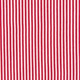 0,5m Bündchen Ringel rot-weiß 70cm breit Meterware
